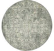 Link to 200cm x 200cm New Vintage Round Rug