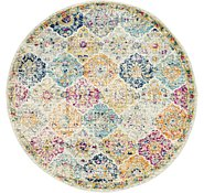 Link to 5' 2 x 5' 3 Santa Fe Round Rug