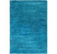 Link to 5' 3 x 7' 2 Solid Shag Rug