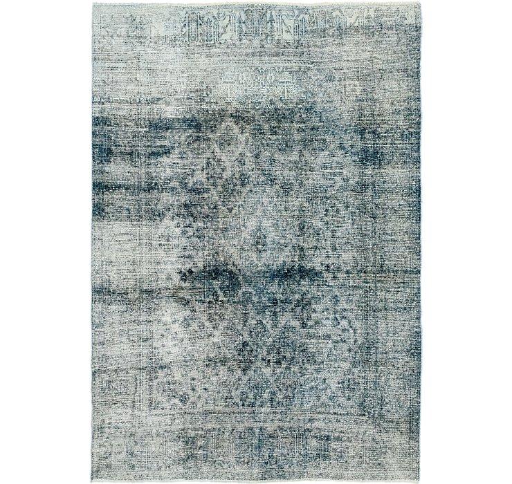 6' 10 x 9' 9 Ultra Vintage Persian Rug