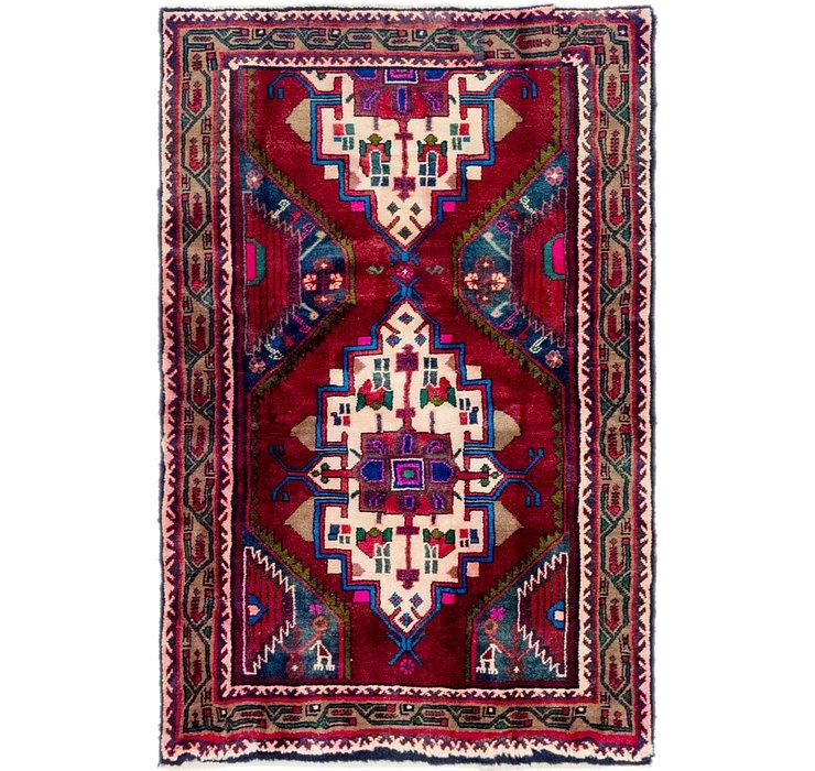 3' 4 x 5' Hamedan Persian Rug