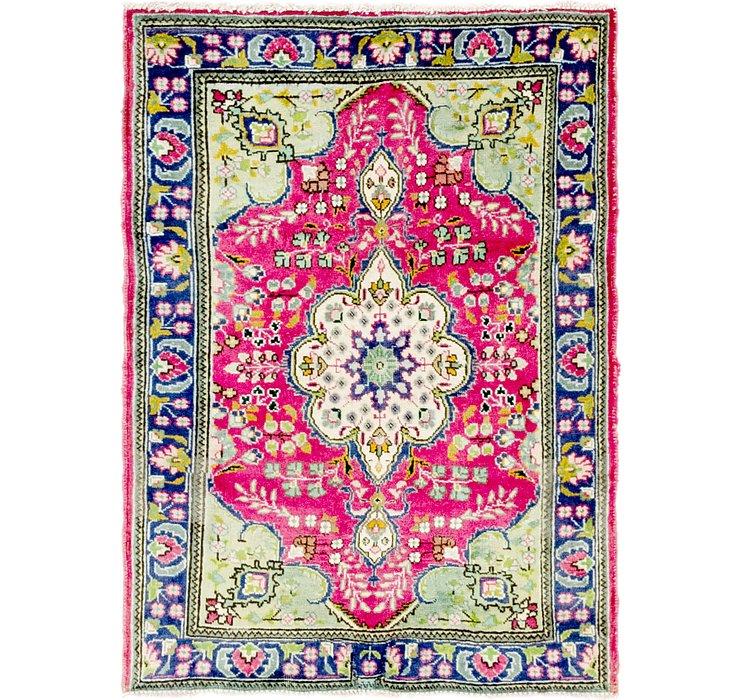 3' 2 x 4' 6 Tabriz Persian Rug