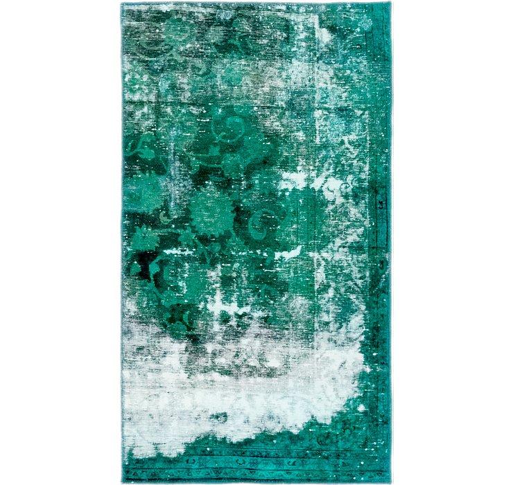 2' 9 x 4' 10 Ultra Vinatge Persian Rug
