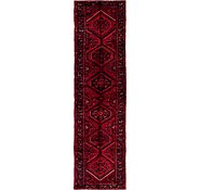Link to 102cm x 390cm Hossainabad Persian Runner Rug