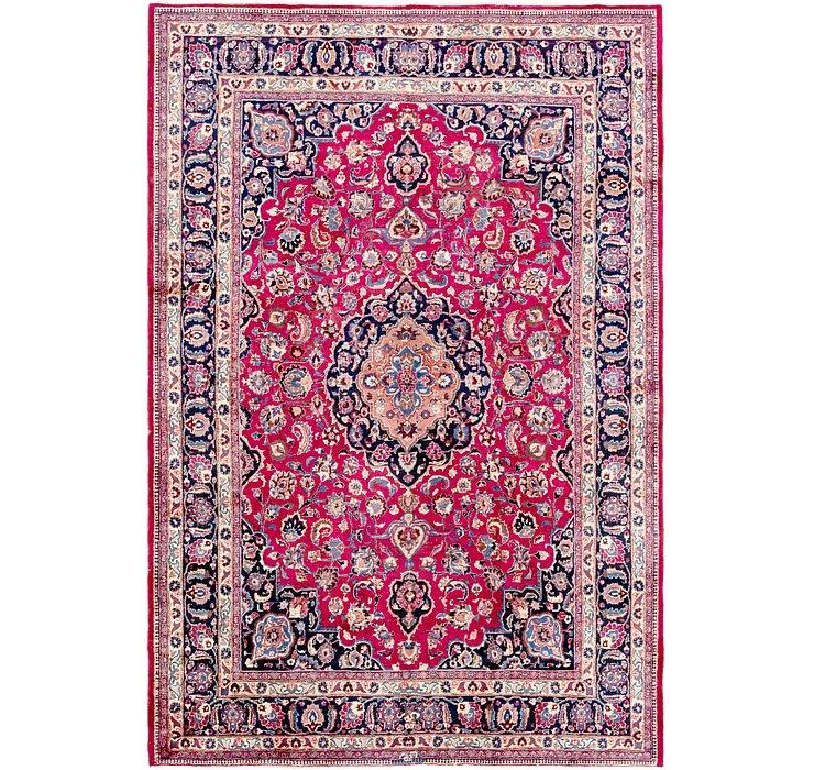 8' 3 x 12' Mashad Persian Rug