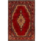 Link to 7' 10 x 11' 8 Tabriz Persian Rug