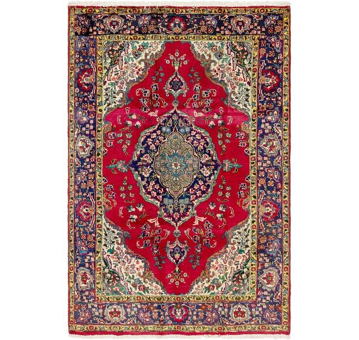 6' 3 x 9' 6 Tabriz Persian Rug
