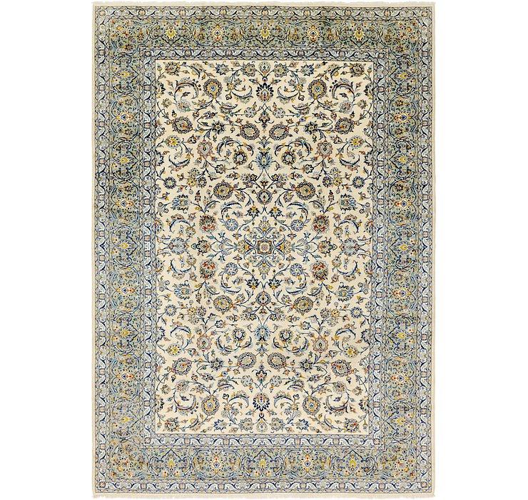 9' 4 x 13' 5 Kashan Persian Rug
