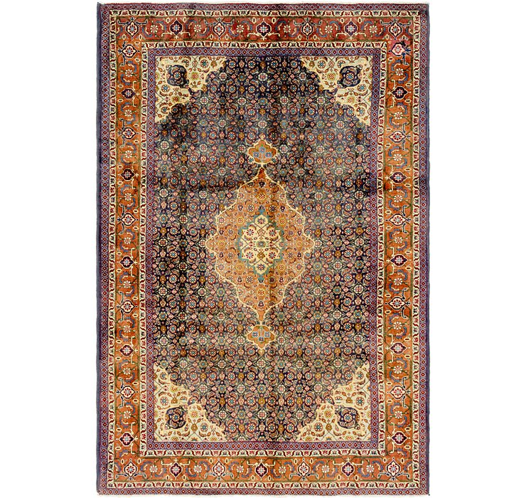 6' 6 x 9' 7 Ardabil Persian Rug
