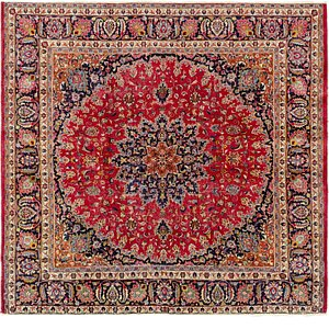Link to 280cm x 292cm Mashad Persian Octagon ... item page
