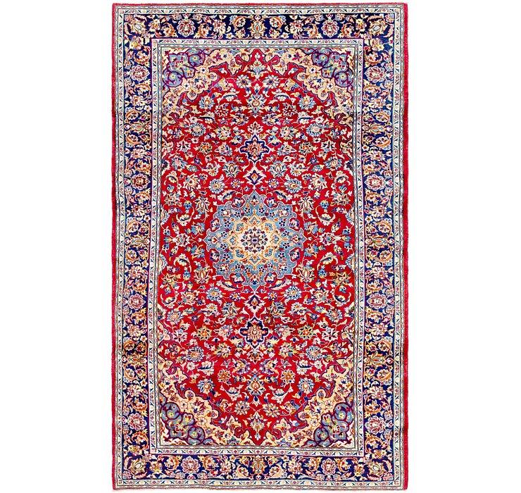 6' 8 x 11' Isfahan Persian Rug
