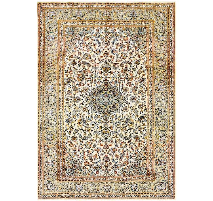 7' 9 x 11' 3 Kashan Persian Rug