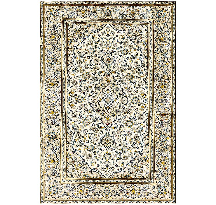 7' 9 x 11' 6 Kashan Persian Rug