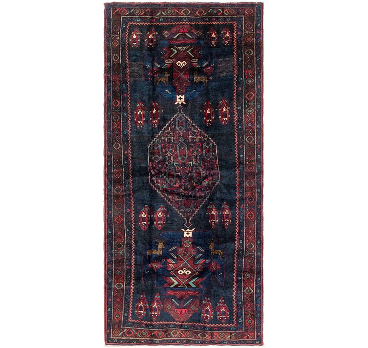 5' 3 x 12' Sanandaj Persian Runner...