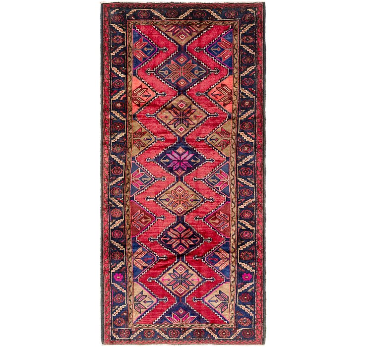 4' 3 x 9' 6 Chenar Persian Runner Rug