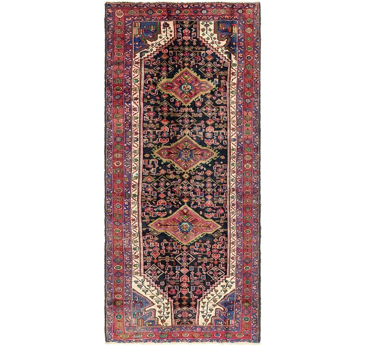 4' 10 x 10' 9 Sanandaj Persian Runner...
