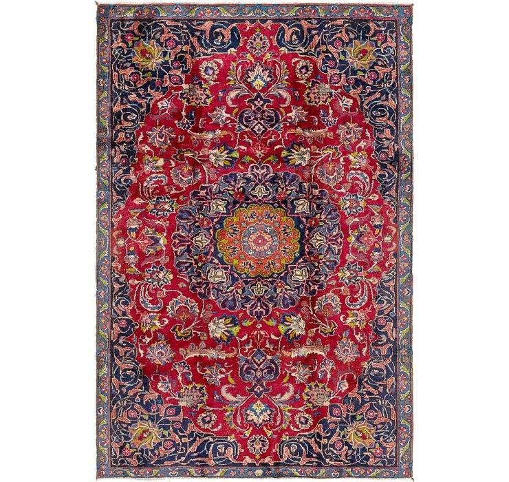 5' 8 x 8' 7 Mashad Persian Rug