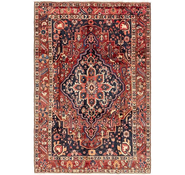 6' 10 x 10' 7 Bakhtiari Persian Rug