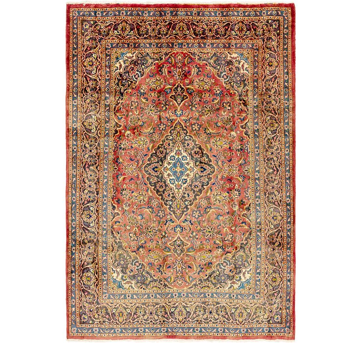 6' 6 x 9' 9 Mashad Persian Rug