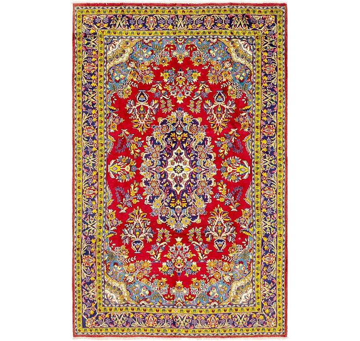 218cm x 345cm Golpayegan Persian Rug
