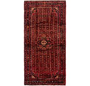 Link to 163cm x 343cm Hossainabad Persian Runner Rug