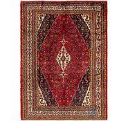 Link to 213cm x 295cm Hamedan Persian Rug