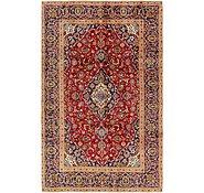 Link to 6' 2 x 9' 10 Kashan Persian Rug