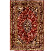 Link to 198cm x 287cm Mashad Persian Rug