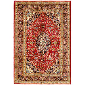 Link to 198cm x 287cm Mashad Persian Rug item page