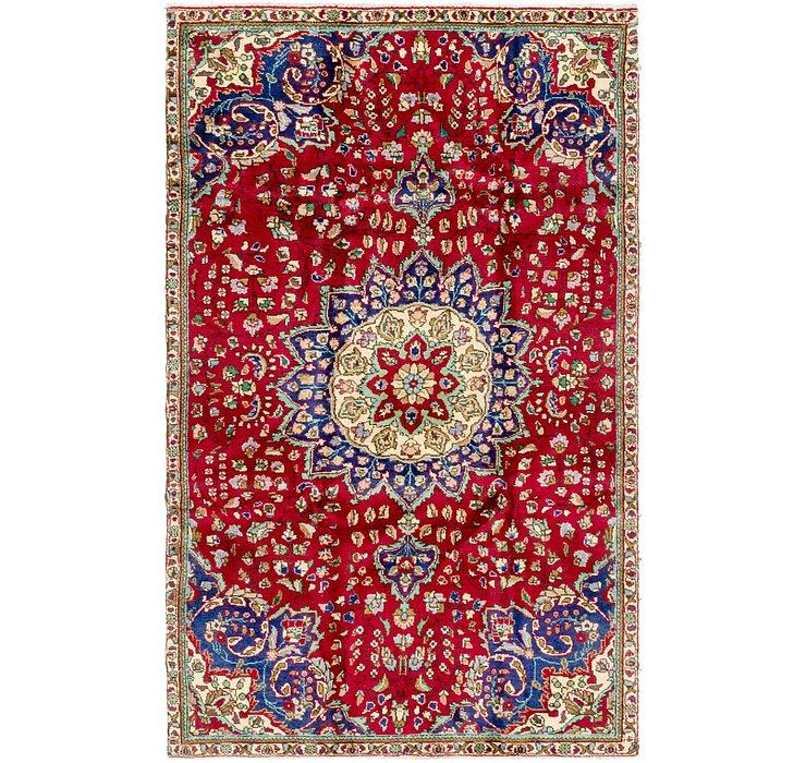 5' 2 x 8' 6 Tabriz Persian Rug