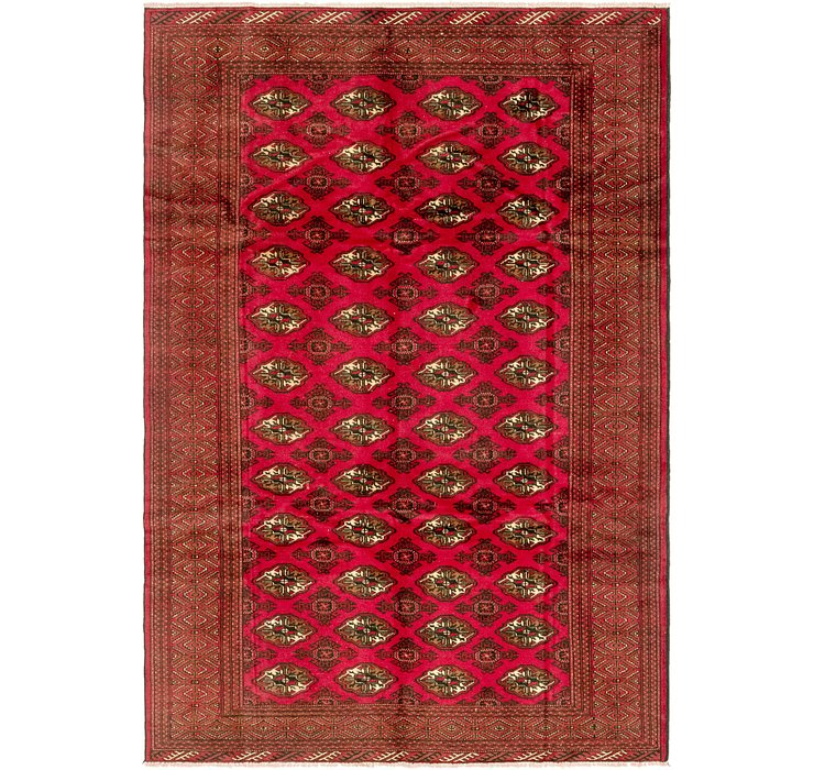 6' 6 x 9' 8 Torkaman Persian Rug