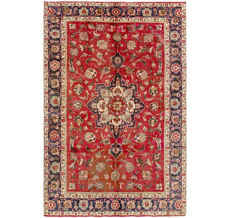 6' 5 x 9' 8 Tabriz Persian Rug