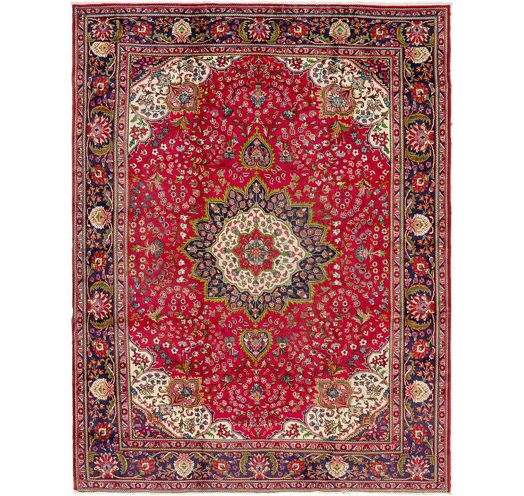9' 8 x 12' 7 Tabriz Persian Rug