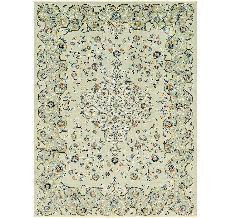 8' 10 x 11' 9 Kashan Persian Rug