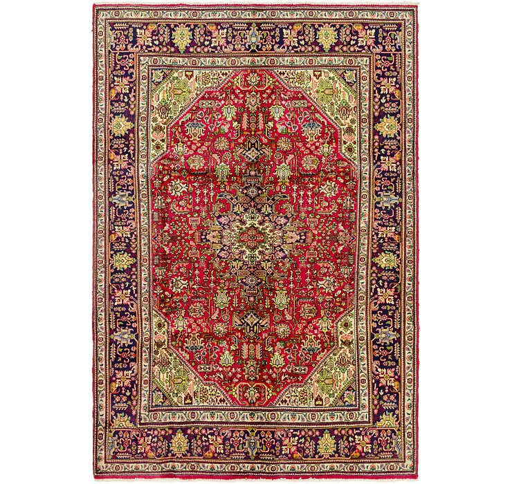 6' 7 x 10' Tabriz Persian Rug