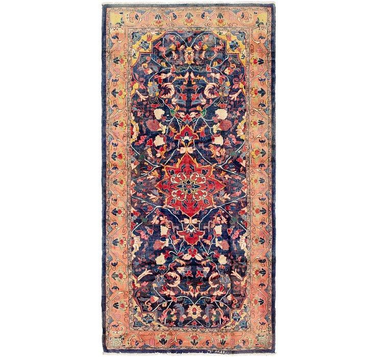 5' 3 x 11' Mahal Persian Runner Rug