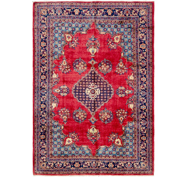 230cm x 330cm Golpayegan Persian Rug