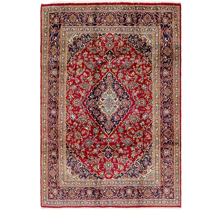 6' 2 x 9' 6 Mashad Persian Rug