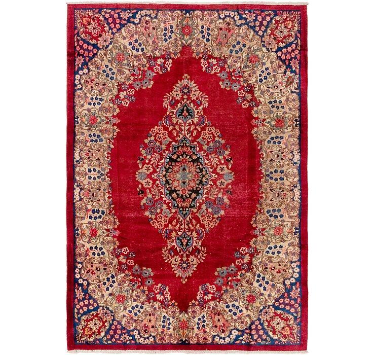 7' x 10' 2 Yazd Persian Rug