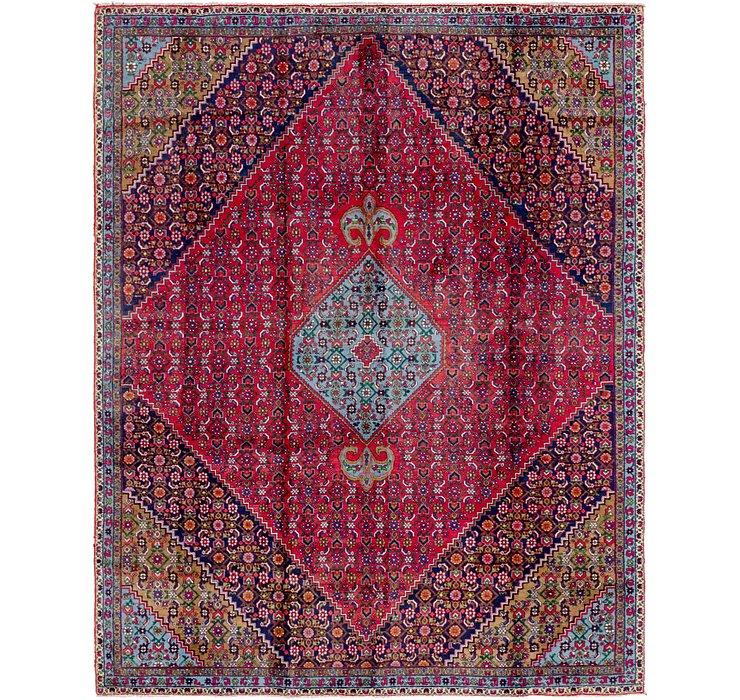8' x 10' 2 Zanjan Persian Rug