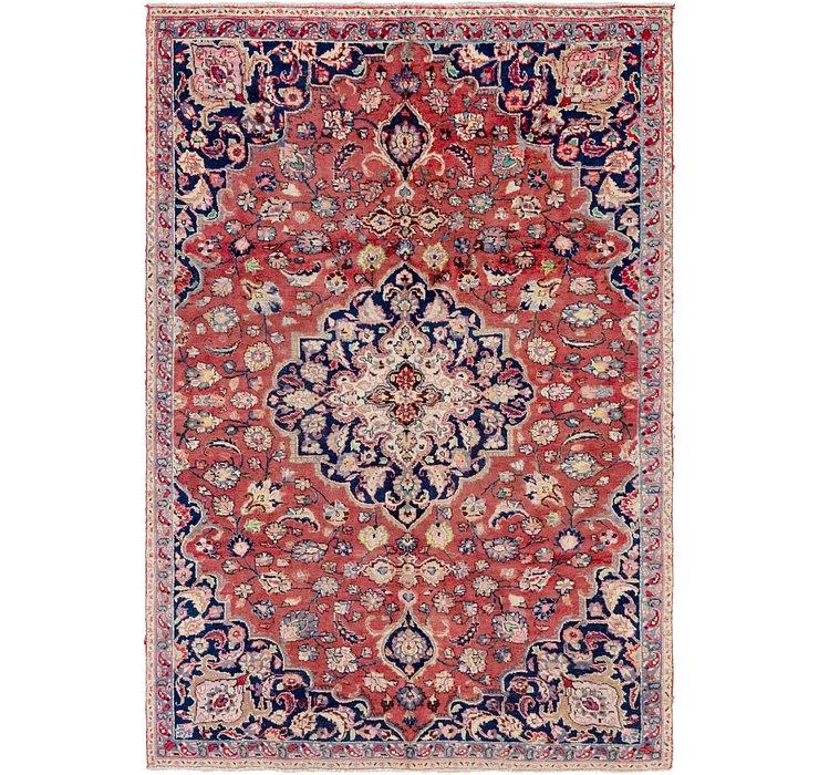 6' 4 x 9' 3 Mashad Persian Rug