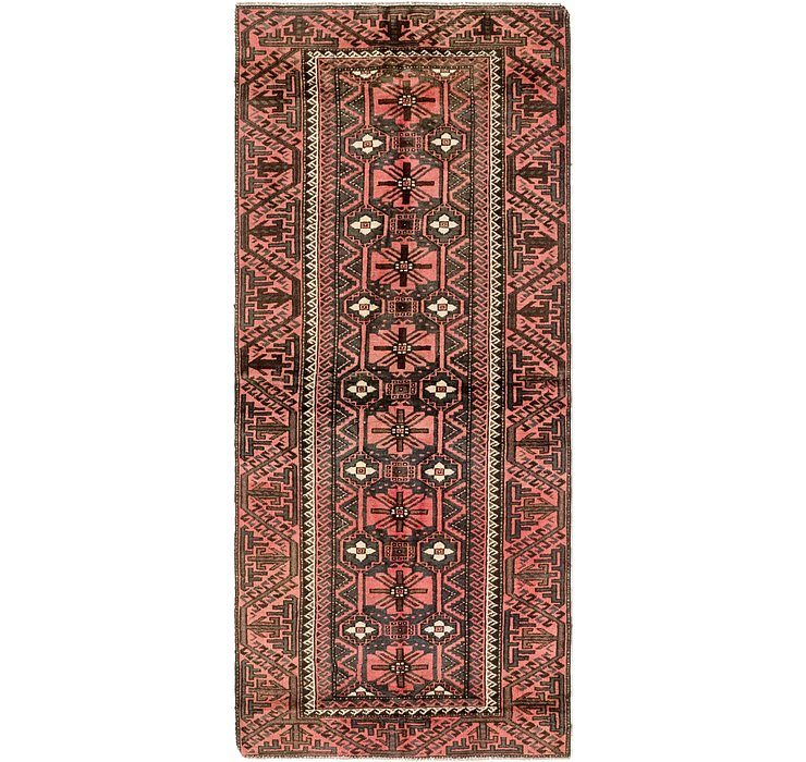 3' 2 x 7' 7 Balouch Persian Runner ...