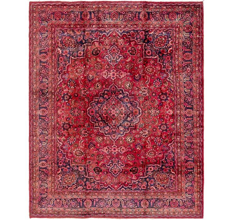 HandKnotted 9' 10 x 12' 7 Mashad Persian Rug