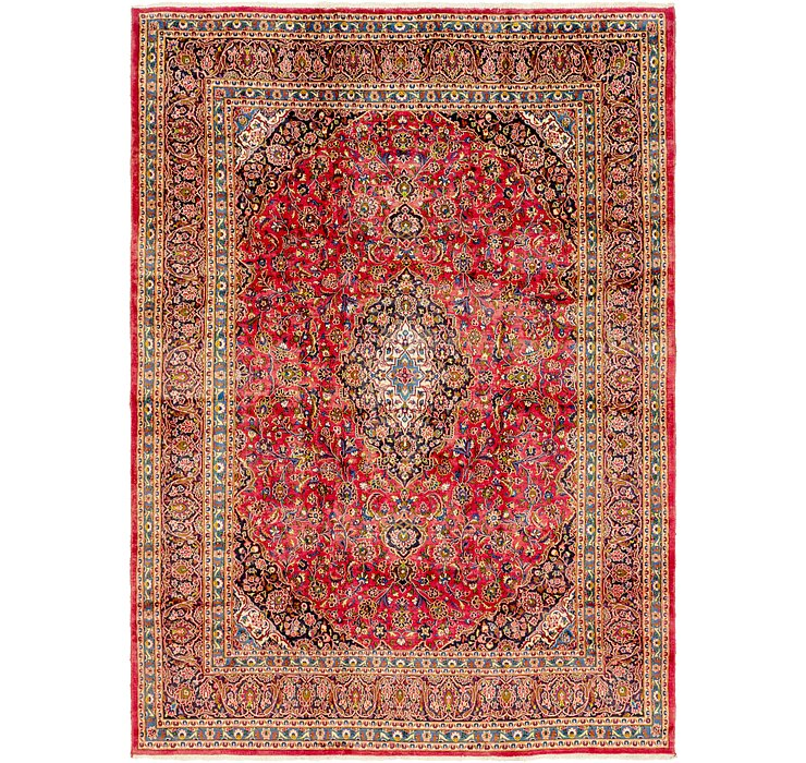 HandKnotted 9' 6 x 13' 2 Mashad Persian Rug