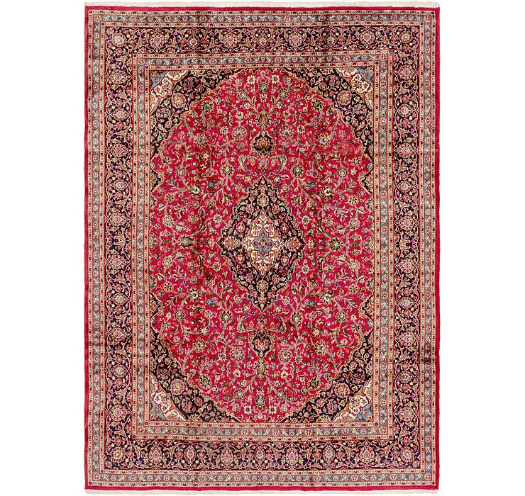 HandKnotted 9' 8 x 13' 3 Mashad Persian Rug