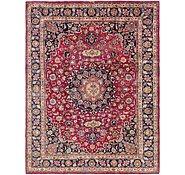 Link to 9' 10 x 13' 2 Mashad Persian Rug