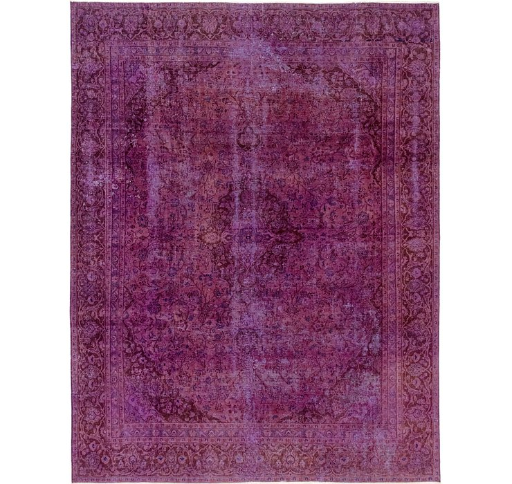 9' x 11' 7 Ultra Vintage Persian Rug