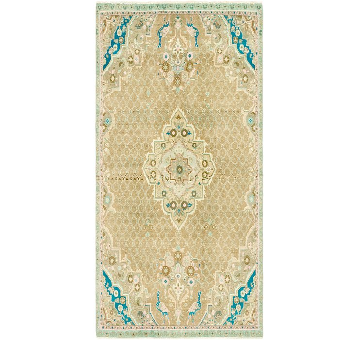 3' 9 x 8' 2 Ultra Vintage Persian R...