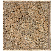 Link to 7' x 7' 6 Ultra Vintage Persian Square Rug