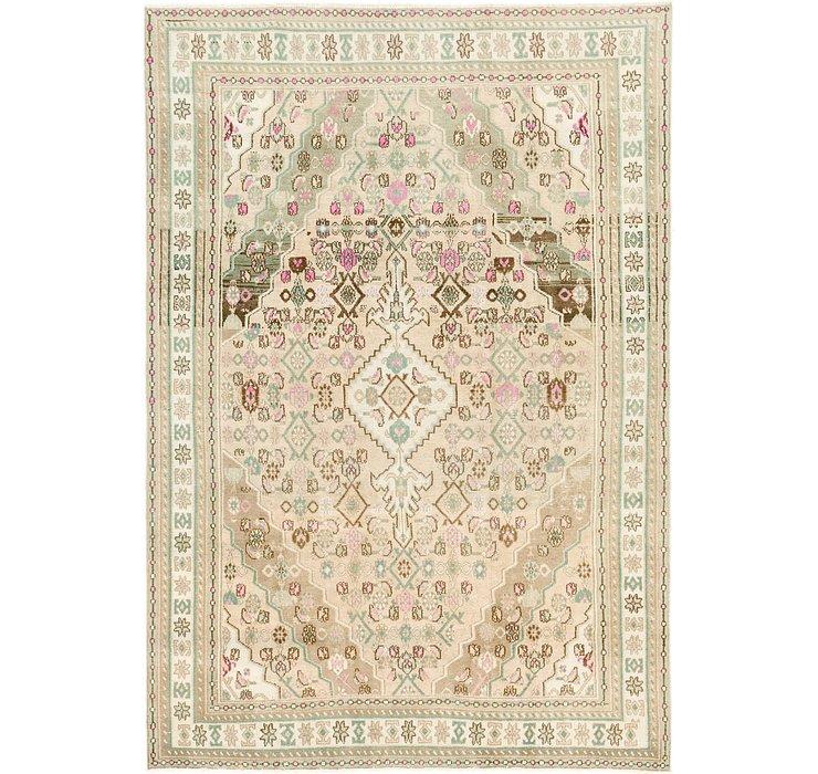 6' 8 x 9' 6 Ultra Vintage Persian Rug
